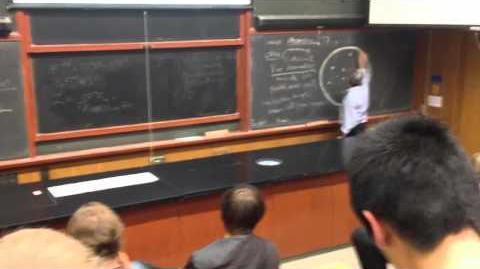 Professor talks about Portals?