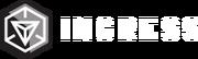 Ingress logo black
