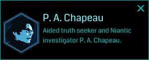 P. A. Chapeau (Info)