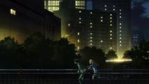Sarah and Makoto run away together