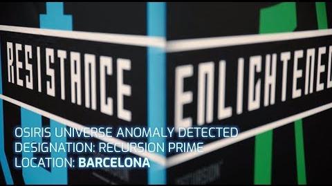 Recursion Prime - Barcelona 2018 - Ingress