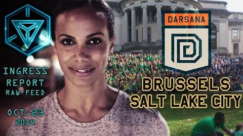 INGRESS REPORT - Raw Feed Oct 23 2014 - DARSANA - BRUSSELS and SLC