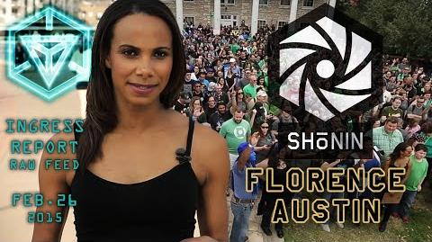 INGRESS REPORT - SHONIN - FLORENCE AND AUSTIN - Raw Feed Feb 26 2015