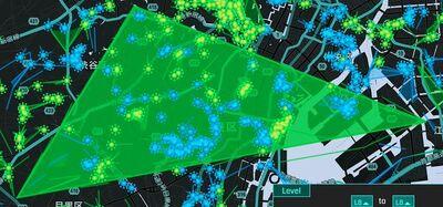 都内に突如姿を現した渋谷・目黒・江東を結ぶ巨大フィールド