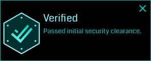 Verified (Info)