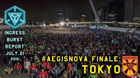 INGRESS BURST REPORT AegisNova TOKYO - July 21 2016