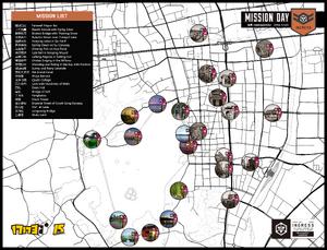 Hangzhou Mission Day 任務地圖