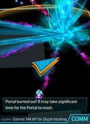Portal burnout