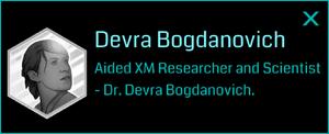 Devra Bogdanovich 2016 (Info)