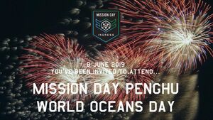 Mission Day Penghu World Oceans Day