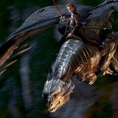 Eragon and Saphira enter into battle