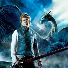The eleventh poster, featuring Eragon standing in front of <a href=
