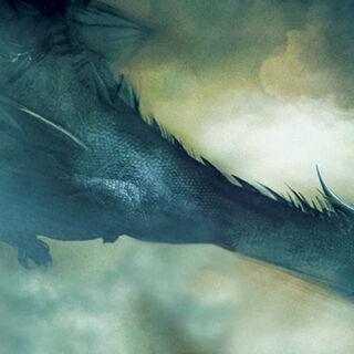 Saphira in flight