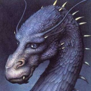 Book cover of <i>Eragon</i>