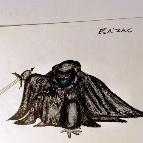 Fan rendition of the shorter Ra'zac