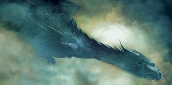 Saphira volando