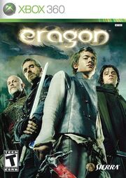 Eragon game cover