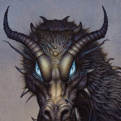Shruikan as seen in the fold-out poster of the Inheritance deluxe edition