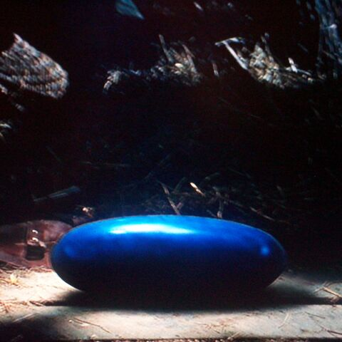 Blue dragon egg as pictured in film