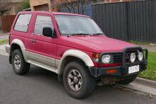 Second Generation Mitsubishi Pajero
