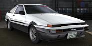 Fake Takumi AE86