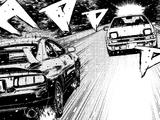 Takumi Fujiwara vs Miki (Rescuing Natsuki)