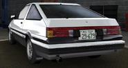 Fake Takumi AE86 Back