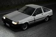 Itsuki AE85 Turbo Ingame