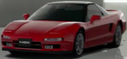 Honda NSX (New Formula Red, Black Top)