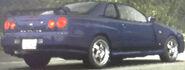 Atsuro's R34 (Rear View)