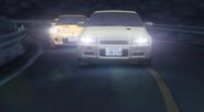 Keisuke vs Kozo anime