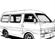 Mazda Bongo manga