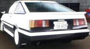 Wataru's Levin (Alliance, Rear View)