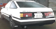Takumi's Trueno (Rear View)
