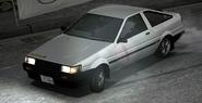 Itsuki AE85 Ingame