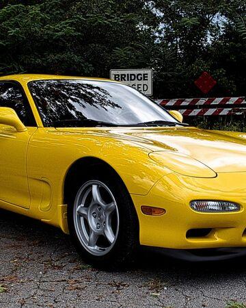 Mazda ɛ Fini Rx 7 Type R Fd3s Initial D Wiki Fandom