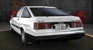 Itsuki AE85 Turbo Back