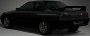 R32 GT-R (Black, Rear)