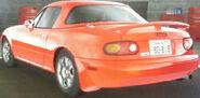 Toru's Roadster (Rear View)