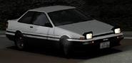 Sidewinder AE86 Ingame