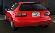 Shingo Civic EG6 Back