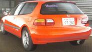 Shingo's Civic (Rear)