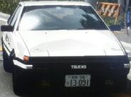 Takumi's Trueno (Fujiwara Tofu Shop Prototype B)