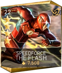 Speedforce the flash