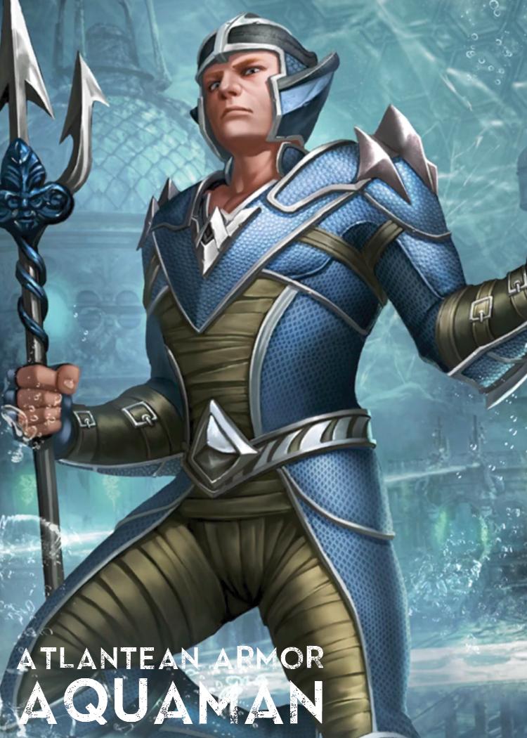 Atlantean Armor Aquaman | Injustice 2 Mobile Wiki | FANDOM ...