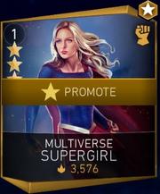 Multiverse Supergirl promotion