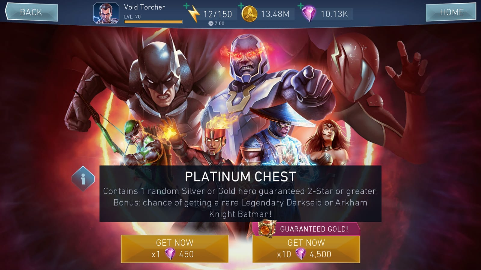 Platinum Chest | Injustice 2 Mobile Wiki | FANDOM powered by