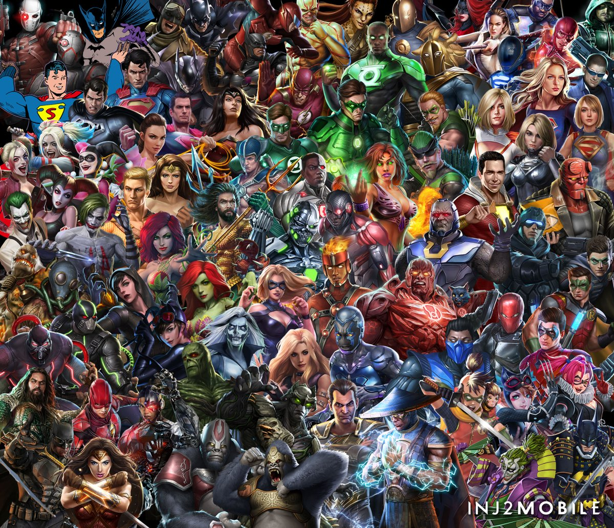 Heroes   Injustice 2 Mobile Wiki   FANDOM powered by Wikia