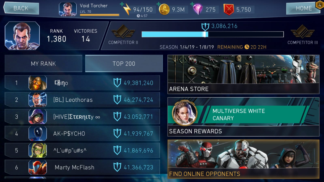 Arena | Injustice 2 Mobile Wiki | FANDOM powered by Wikia