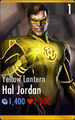 Hal Jordan the Yellow Lantern